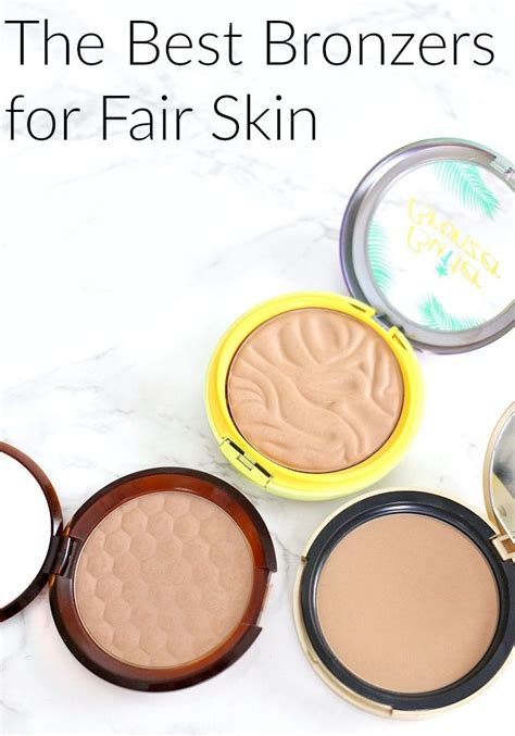 best makeup for skin best 25 bronzer for fair skin ideas on pale
