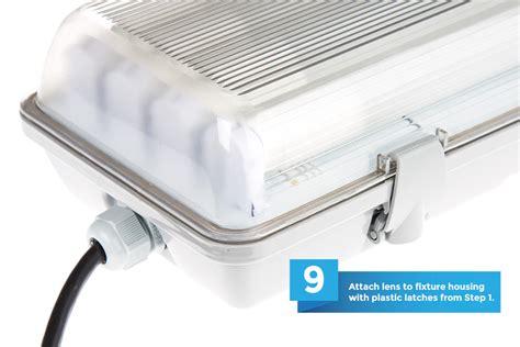 4 l t8 fixture t8 vapor led light fixture for 4 led t8
