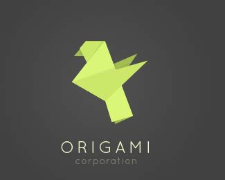 Origami Bird Logo - logopond logo brand identity inspiration origami