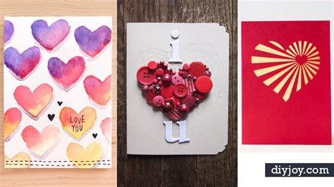 Valentines Handmade Cards - 50 thoughtful handmade valentines cards diy
