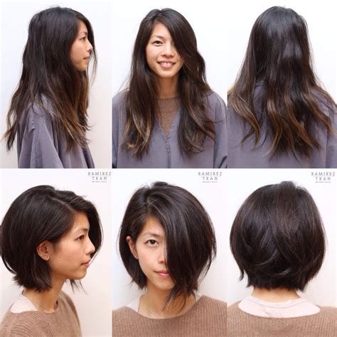 hairstyles for fine hair before and after 30 photos avant apr 232 s coupes cheveux pour vous inspirer