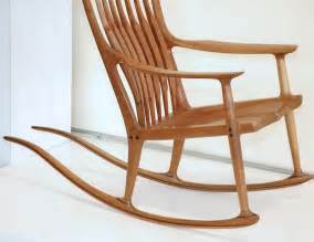 Cane Chair Sam Maloof Rocking Chair At 1stdibs