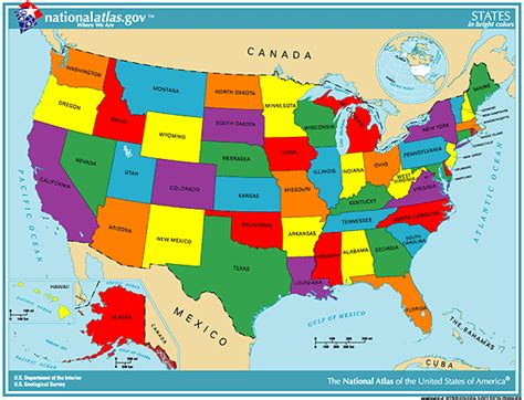 United States Map With States Blank United States Map Dr Odd