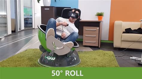 moving flight simulator chair yaw vr is a portable motion simulator seat for your headset