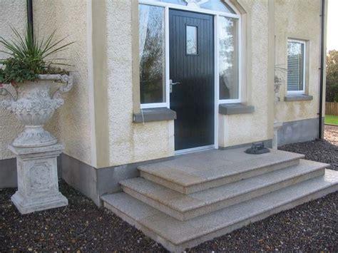 front entrance steps steps  straightforward