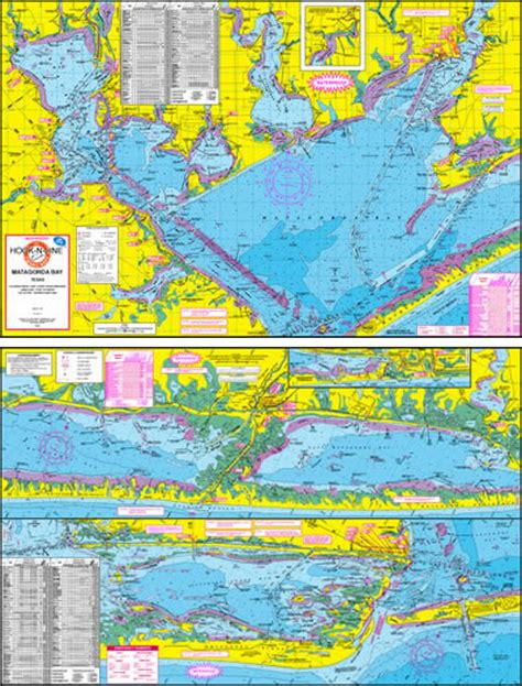 texas gulf coast fishing maps matagorda bay fishing map