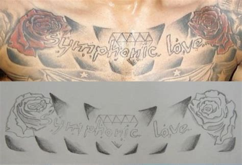 chris brown chest tattoo chris brown symphonic chris browns symphonic