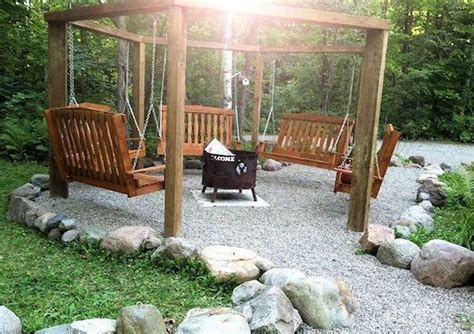 diy pit swing set pit swing sets the owner builder network