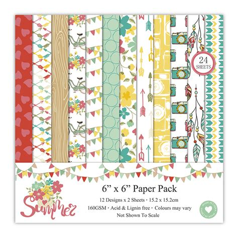 12inch Scrapbook Paper 25 buy summer scrapbook paper pack of 24 sheets 12 by 12 inch in india at best prices at