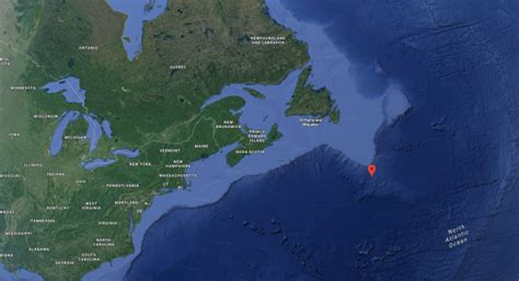 Titanic Sinking Spot titanic s resting spot revealed on maps