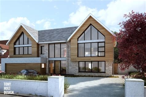 Approved Contemporary Replacement House In Essex Contemporary House Plans Uk