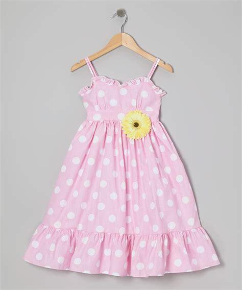 Dress Kid Ursula Polka kid s pink white polka dot dress pin toddler kid daily deals and