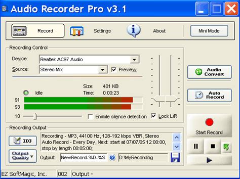 Record Free Audio Recorder
