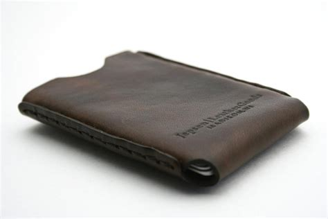 Handmade Leather Card Holder - handmade windows leather business card holder gadgetsin