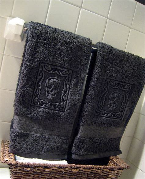 bathroom towel designs 25 best ideas about skull decor on skull