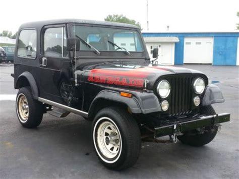 amc jeep cj7 find used 1982 amc jeep cj7 renegade 4x4 black in united