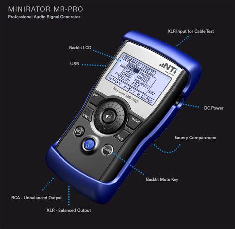 Mr Pro by Nti Mr Pro Minirator Audio Signal Generator