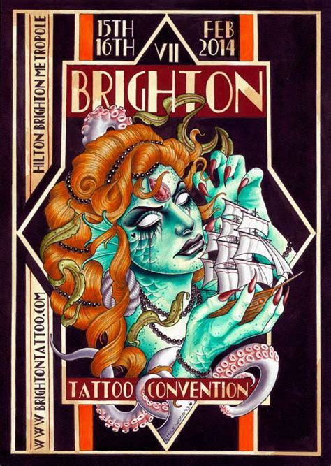 world tattoo events brighton convention april 2016