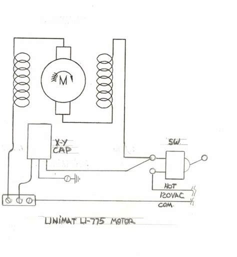 universal motor wiring diagram impremedia net
