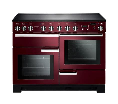 kitchen master induction cooker rangemaster professional deluxe 110 induction range cooker cranberry chrome cranberry