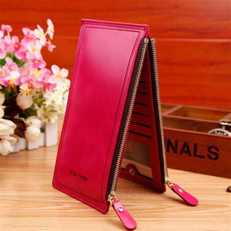 jual dompet kulit import asli warna merah marun harga murah surabaya oleh pt menara zipper