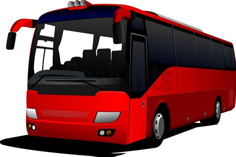 couch buses coach bus clipart