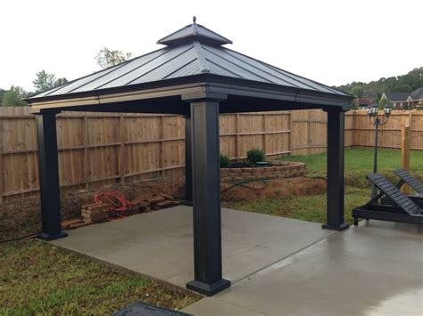 gazebo aluminum why choosing aluminum gazebos gazebo ideas