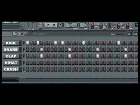 drum pattern flp how to make a trap edm drum pattern in fl studio tut