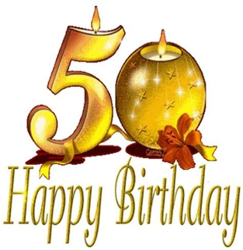 Happy 50th Birthday Wishes in English