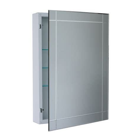 Wall Mounted Medicine Cabinet Lowes Shop Allen Roth 22 25 In X 30 25 In Rectangle Surface