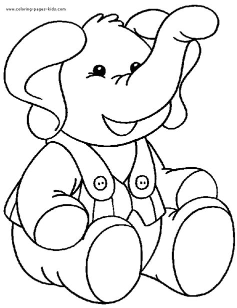 animal coloring pages elephant elephant color page animal coloring pages color plate