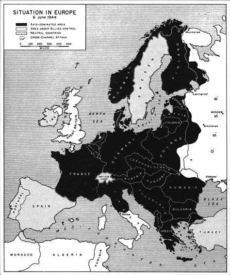 situation in europe june 6 1944