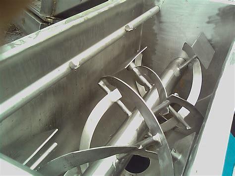 Ribbon Blender 2 cu ft paul abbe stainless steel ribbon blender 4463
