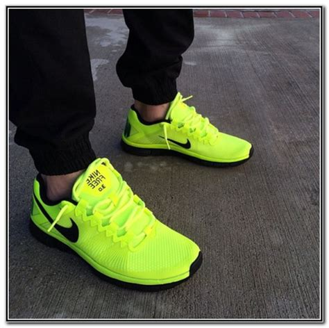 black and lime green nike shoes shoes fashion styles