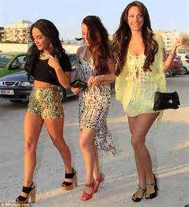 tulisa makes the most of ibiza nightlife as she hits the
