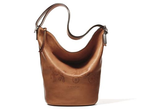 Coach Bleeker Leather Large Duffle by Newsfash What You Ll Be Wearing This Fall Li