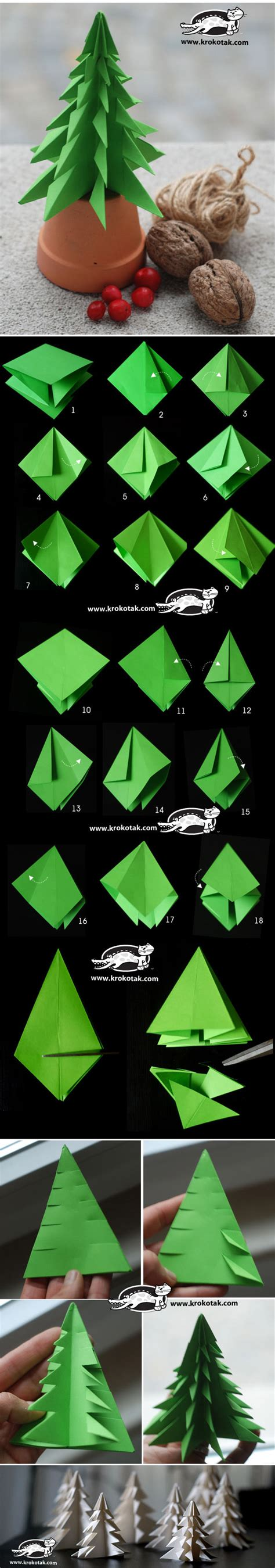 folding a fir tree fold a fir tree http krokotak 2013 11 fold a fir tree crafty corner