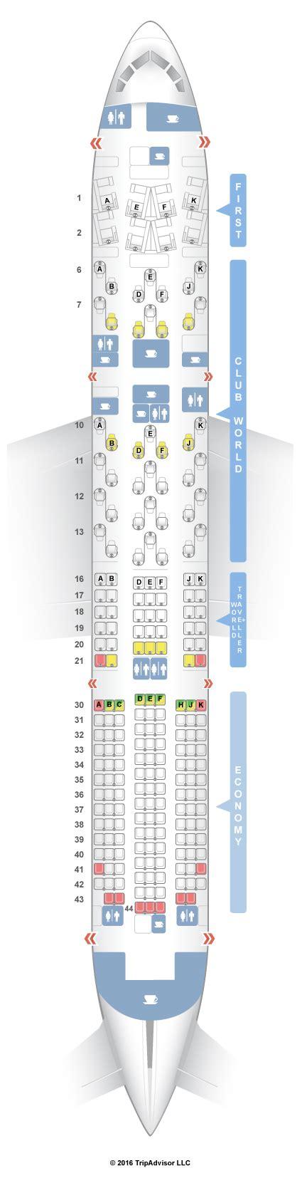 seating guru seatguru airbus a340