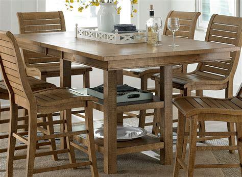 rectangular pine dining table willow distressed pine rectangular extendable counter