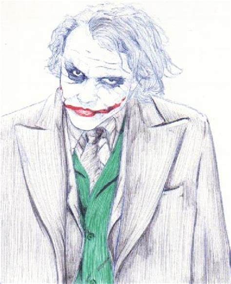 imagenes de joker para colorear el joker dibujo imagui