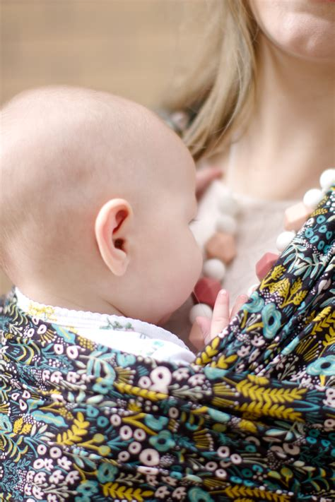 ajj x solly baby wrap diy teething necklace with solly baby see kate sew