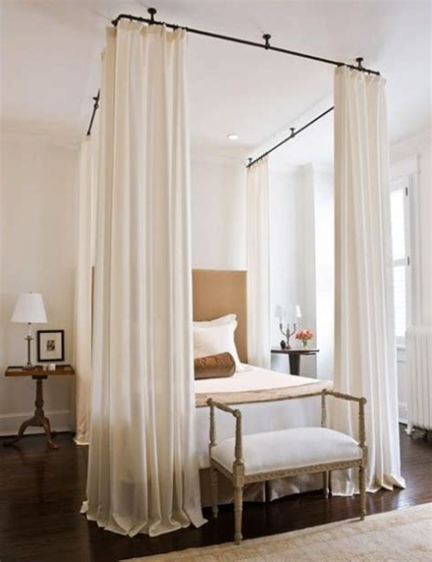 curtains attached to ceiling curtains and rods attached to ceiling sleep bedrooms