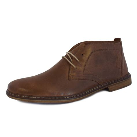 leather boots mens rieker boots mens brown leather desert boots mozimo