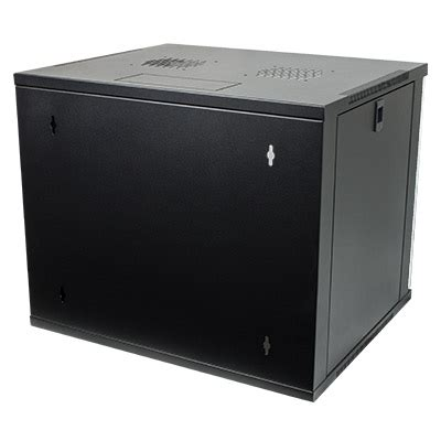 9u Comms Cabinet by 9u 19 Quot Network Cabinet Rack Wall Mounted 540 450mm Black