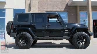 Customized jeep wranglers black wappercar