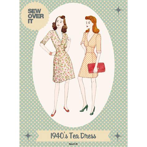 pattern for vintage tea dress indie garment pattern tour week three vintage inspired