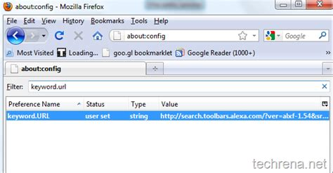 Url Address Search How To Change The Search Provider In The Firefox Address Bar Techrena