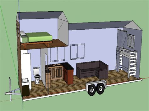 tiny house trailer plans free modern house plan modern