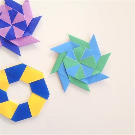 Origami 8 Point - how to make paper step by step cscsres x fc2