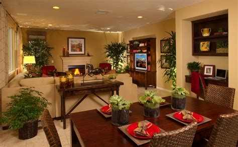 Living Room And Dining Room Combo Layout Idea To Separate Living Room Dining Room Combo Space Note The Accent Lighting And Use